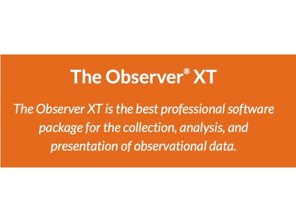Observer XT (Noldus, inc.)